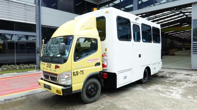 Unik, Begini Wujud Bus yang Dipakai di Perusahaan Tambang (1165212)