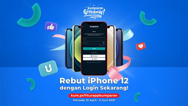 Login Sekarang agar Bisa Dapat iPhone 12! (165859)