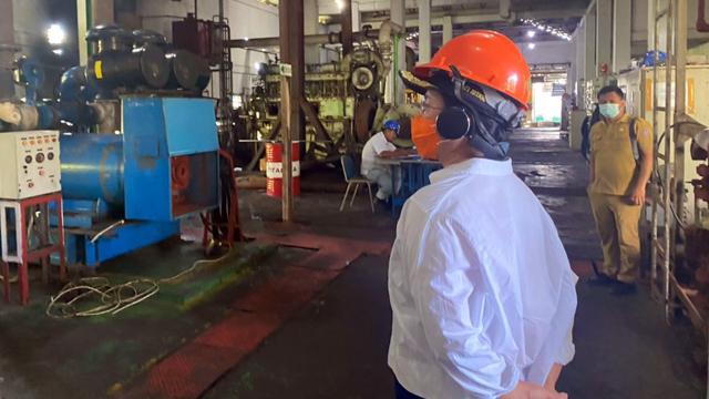 PLN: Pemadaman Listrik di Kabupaten Sitaro Akibat Kerusakan Mesin Pembangkit  (100036)