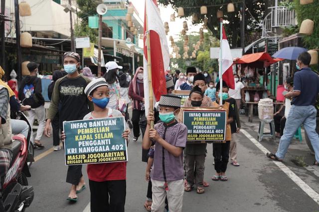 Masjid Jogokariyan Koordinasi ke Kemhan soal Payung Hukum Patungan Kapal Selam (108111)