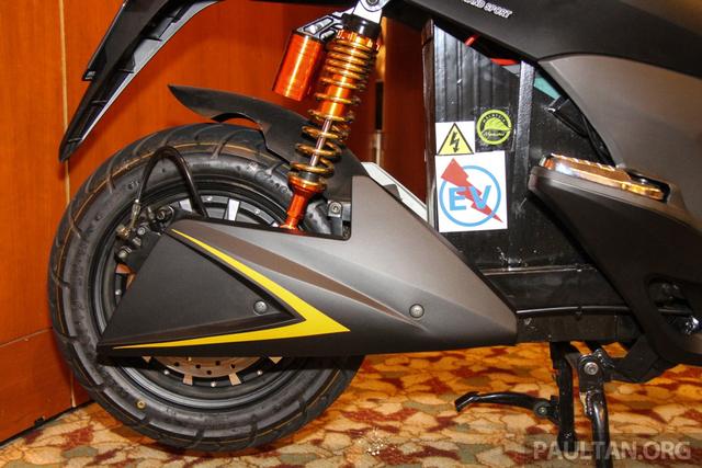 Intip Spesifikasi Motor Listrik Treeletrik T90 'Kembaran' Honda PCX (144936)