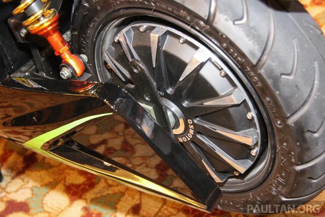 Intip Spesifikasi Motor Listrik Treeletrik T90 'Kembaran' Honda PCX (144938)