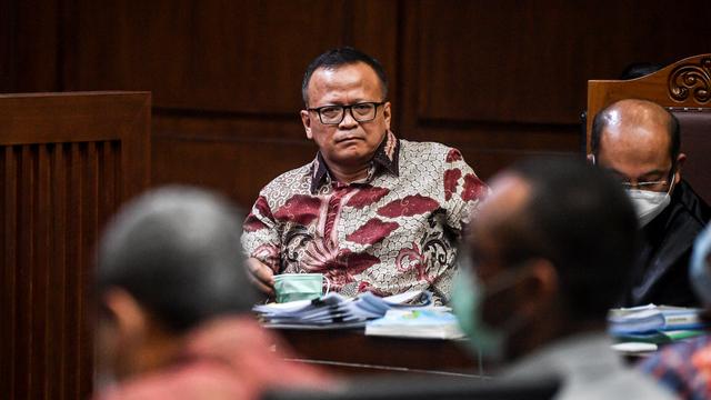 Sidang Benur Edhy Prabowo, Jaksa Ungkap Nama Fahri Hamzah dan Azis Syamsuddin (4)