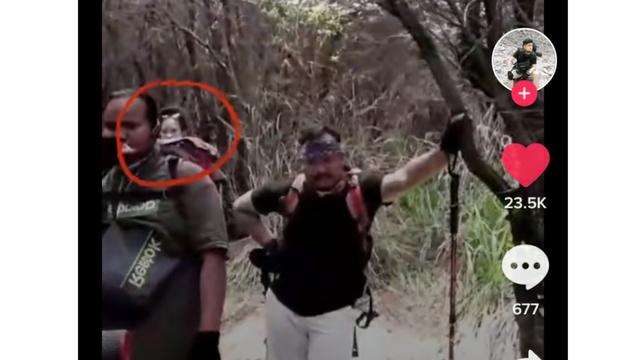Viral Penampakan Misterius Terekam Kamera saat Pria Ini Naik Gunung Papandayan (100007)