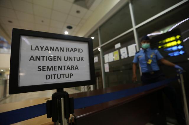 9.000 Orang Pakai Alat Antigen Bekas, Periksa Juga Layanan di Bandara Lain (13569)