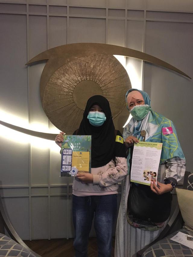 """""""Kurangi Screen Time, Ambil Bukumu"""" Cara Klinik Mata dr. Sjamsu Jaga Mata Anak (141025)"""