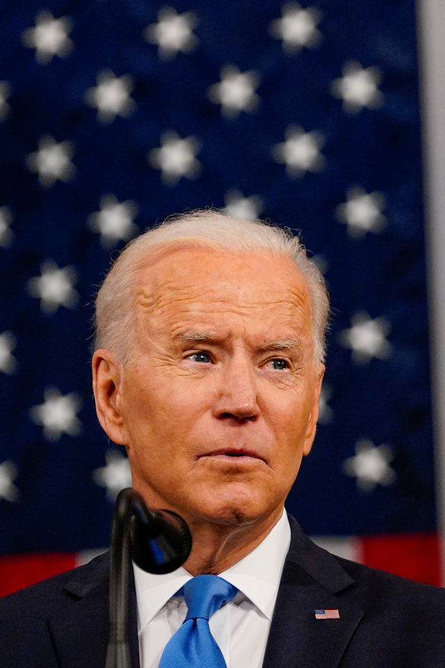 Joe Biden Bidik China saat Sampaikan Pidato Pertama di Depan Kongres AS (68602)