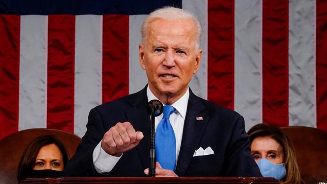 Joe Biden Bidik China saat Sampaikan Pidato Pertama di Depan Kongres AS (68603)