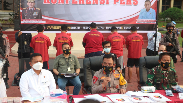 Tersangka Layanan Rapid Antigen Bekas di Bandara Kualanamu Raup Rp 1,8 M (5194)