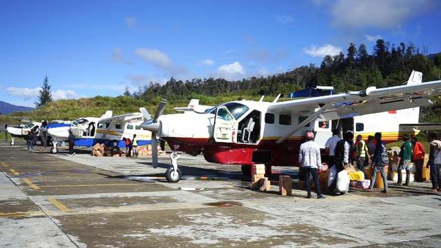 Keamanan di Bandara Ilaga Puncak Papua Mulai Normal (444354)