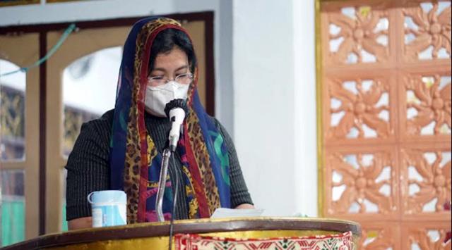 Bupati Sitaro Puji Umat Islam yang Menjaga Kehidupan Beragama dan Tetap Rukun (111634)