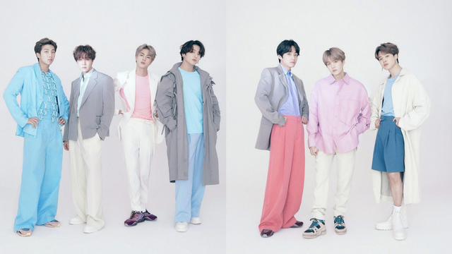 Tampilan Perdana Idola K-Pop BTS Jadi Brand Ambassador Louis Vuitton (212671)