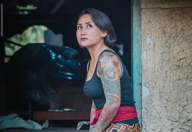 Tolak Stigma Negatif, Selebgram Ini Rilis Buku 'Tato Perempuan Bali' (108747)