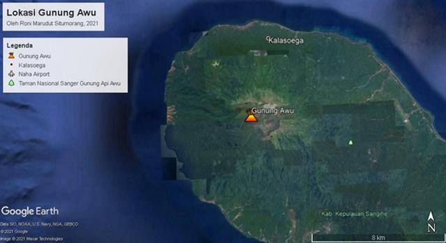 Fakta Gunung Paling Utara Indonesia: Sejarah Gunung Awu Telan 7.377 Korban Jiwa (42939)