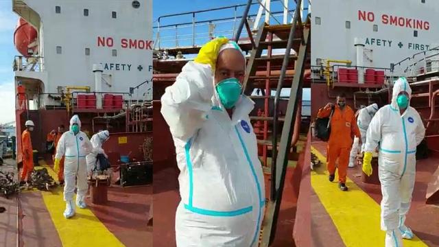 Berlabuh di Dumai, Kapten Kapal Warga Negara India Positif COVID-19 (61492)