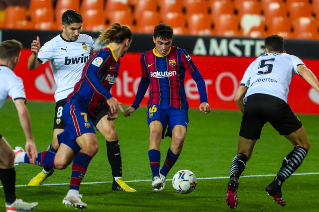 Valencia vs Barcelona: Drama 5 Gol, Messi cs Curi 3 Poin dari Tuan Rumah (128874)
