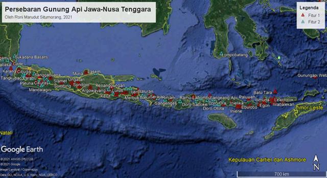 Fakta Geologis Menarik Gunung Api Iya, Gunung Api Aktif Paling Selatan Indonesia (42354)