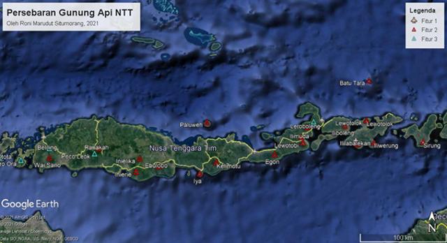 Fakta Geologis Menarik Gunung Api Iya, Gunung Api Aktif Paling Selatan Indonesia (42355)