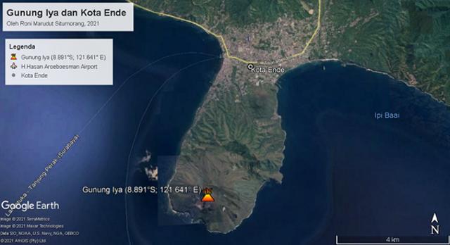 Fakta Geologis Menarik Gunung Api Iya, Gunung Api Aktif Paling Selatan Indonesia (42357)