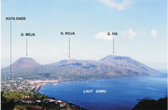 Fakta Geologis Menarik Gunung Api Iya, Gunung Api Aktif Paling Selatan Indonesia (42360)