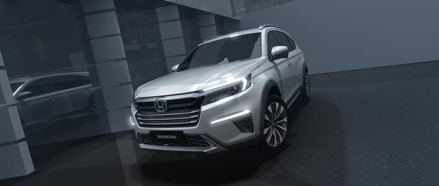 Dari Jakarta, Konsep Mobil Honda N7X Diperkenalkan ke Dunia, Calon BR-V Baru? (701075)