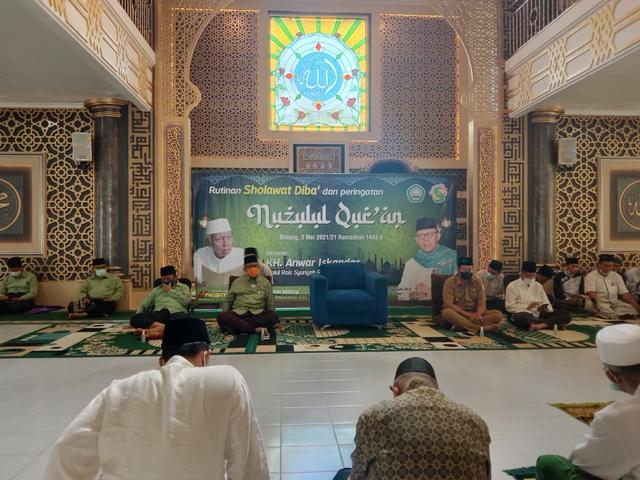 Unisma Diba' Peringati Nuzulul Quran bersama PWNU Jatim (38993)