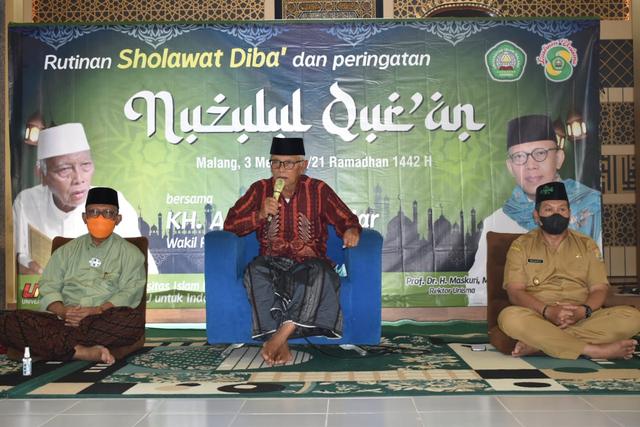 Unisma Diba' Peringati Nuzulul Quran bersama PWNU Jatim (38995)