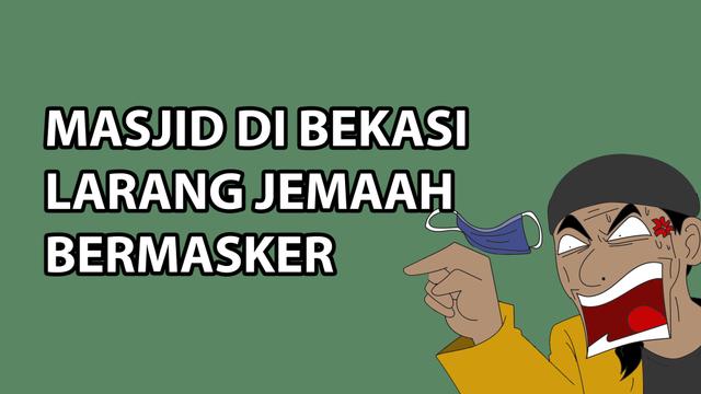 Komik: Masjid di Bekasi Larang Jemaah Bermasker (51276)