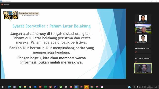 Workshop Storytelling IPB University, Temukan Tunas Unggul Penulis Mahasiswa (18044)