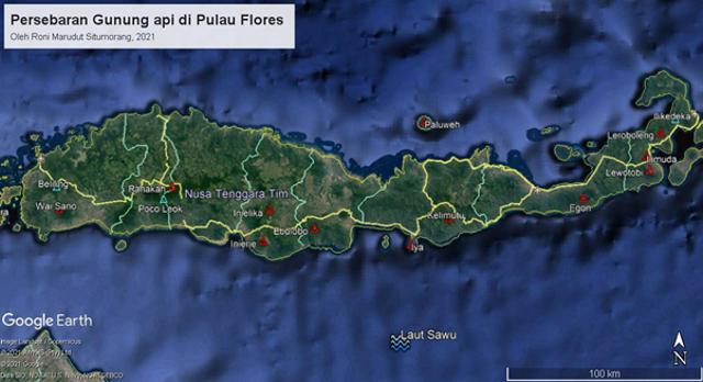 Fakta Geologis Menarik Gunung Inie Rie: Gunung Api Aktif Tertinggi di Flores (44131)