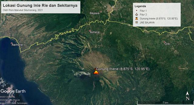 Fakta Geologis Menarik Gunung Inie Rie: Gunung Api Aktif Tertinggi di Flores (44132)