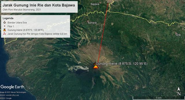 Fakta Geologis Menarik Gunung Inie Rie: Gunung Api Aktif Tertinggi di Flores (44136)