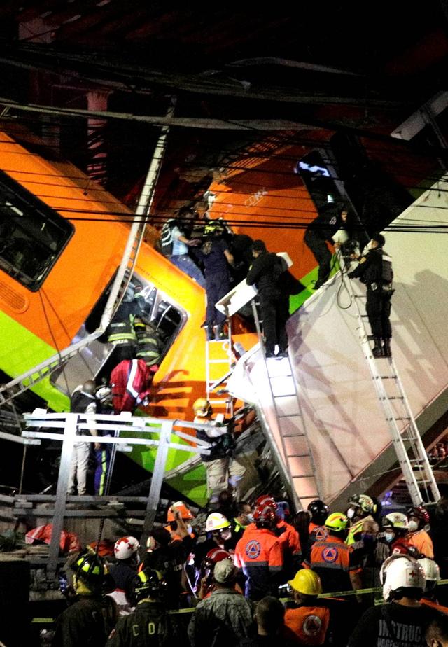 Insiden Jembatan Layang Ambruk di Meksiko Tewaskan 15 Orang, Lukai 70 Lainnya (38351)