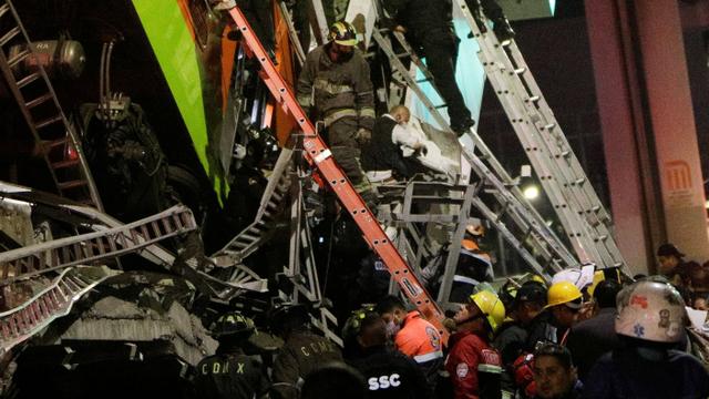 Korban Tewas Akibat Jembatan Layang Ambruk di Meksiko Jadi 24 Orang (84696)