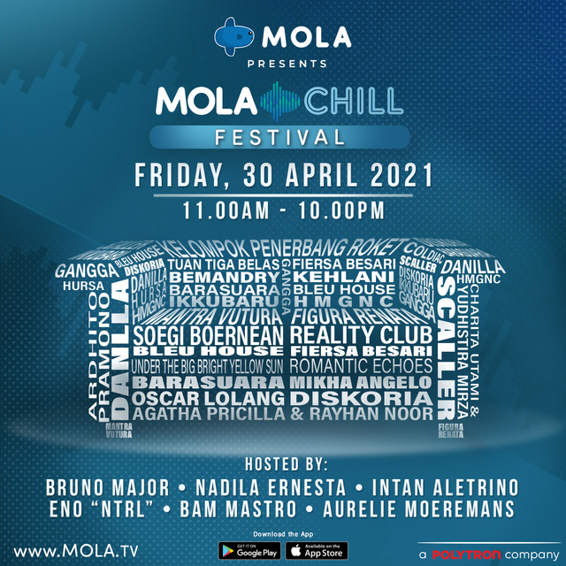 Mola Chill Festival Suguhkan Live Music Kelas Dunia dalam Satu Hari (737765)