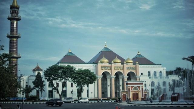 Masjid Agung Palembang Buka Layanan Penerimaan Zakat (673040)