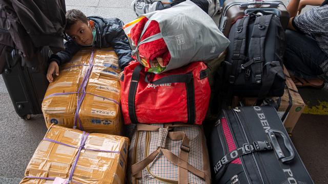 Foto: Suasana di Terminal Pulogebang Jelang Masa Larangan Mudik (6363)