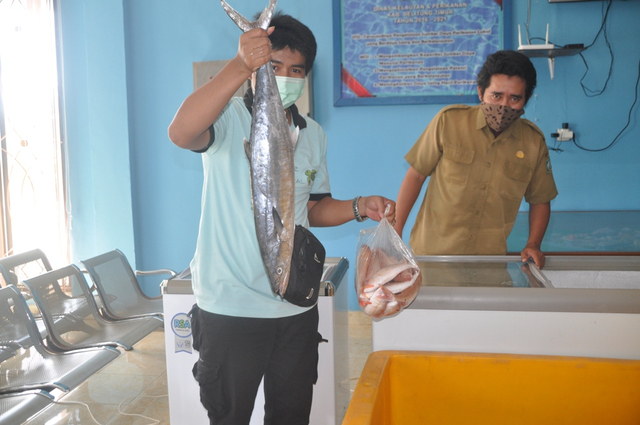 Dinas Perikanan Beltim Gelar Bazar Ikan Segar (145255)