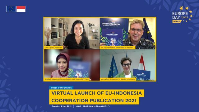 Green Recovery, Fokus Kerja Sama Indonesia-Uni Eropa usai Pandemi Corona (117014)