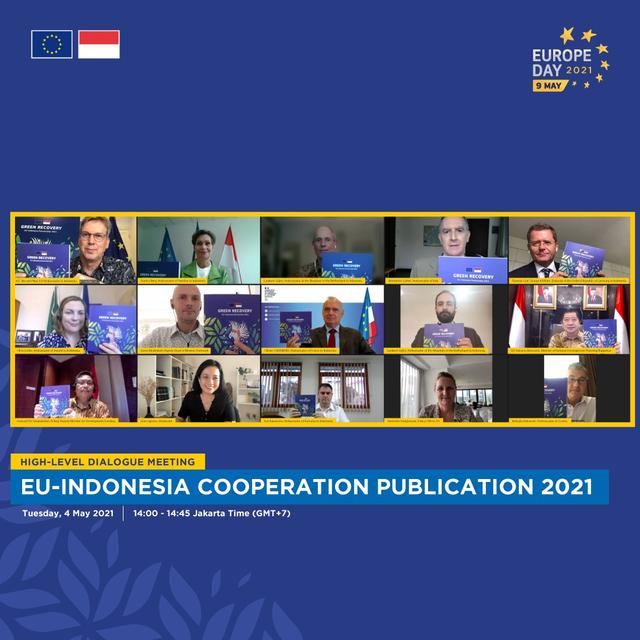 Green Recovery, Fokus Kerja Sama Indonesia-Uni Eropa usai Pandemi Corona (117015)
