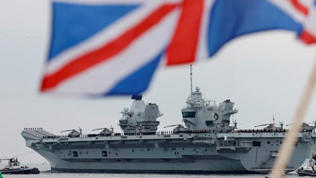 Foto: Di Tengah Isu Dominasi China, Kapal Inggris Konvoi Menuju Lautan Asia (561849)