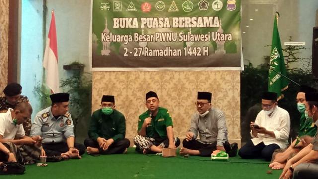 GP Ansor dan PWNU Sulut Gelar Silaturahmi Sekaligus Berbuka Puasa Bersama (97341)