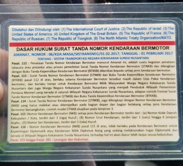 Polisi: Rusdi Jenderal Sunda Nusantara Punya SIM RI, tapi Tak Mau Ditunjukkan (451964)