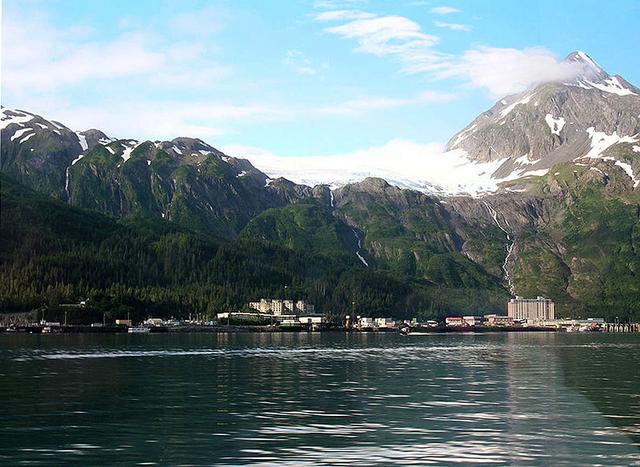 Kota Whittier, Alaska