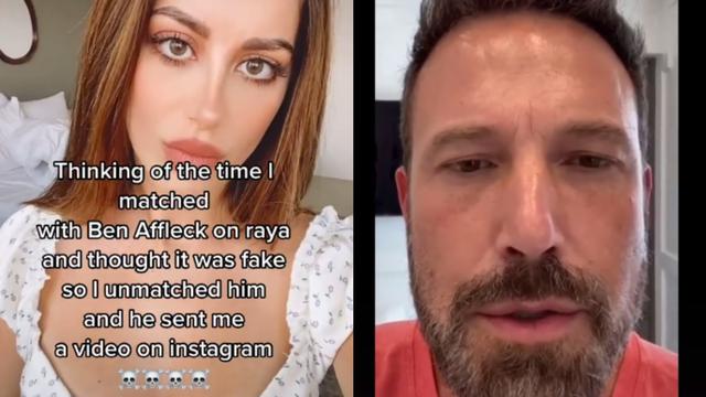 Perempuan Ini Viral setelah Menolak Ben Affleck di Aplikasi Kencan Online (101663)