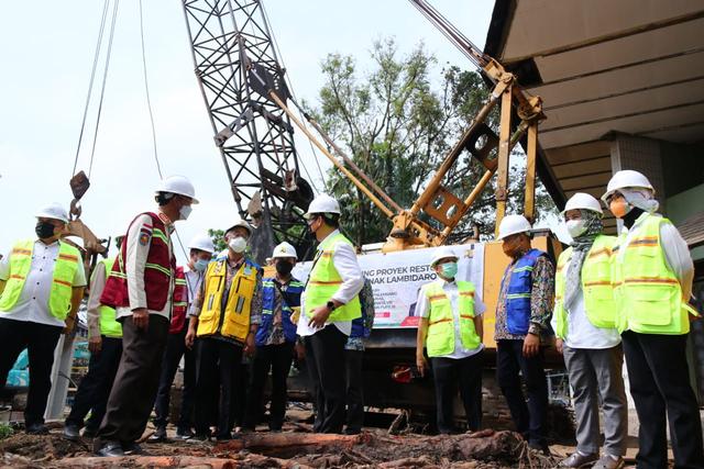Restorasi Sungai Sekanak Lambidaro Palembang Dilanjutkan (97090)