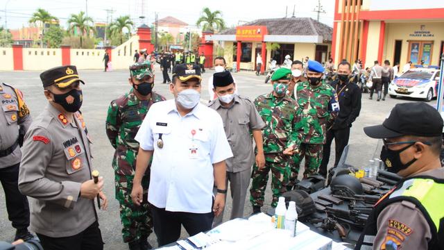 Bupati Blora Pimpin Apel Gelar Pasukan Operasi Ketupat 2021 (291904)
