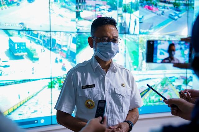 Pemkot Razia Pusat Perbelanjaan di Pontianak, Tak Pakai Masker Tak Boleh Masuk (487323)