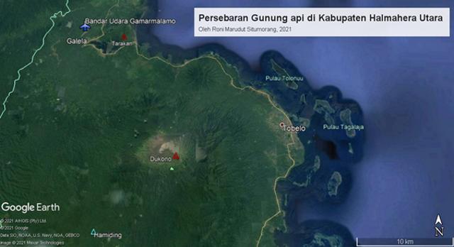 Fakta Geologis Gunung Dukono, Periode Aktivitas Erupsi Terpanjang di Indonesia (306036)