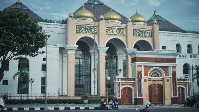 Masjid Agung Palembang Ditutup saat Idul Fitri (62335)